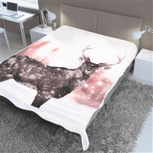 Supersoft Throw 150x200cm - Winter Deer