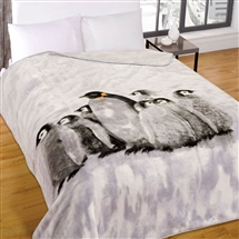 Supersoft Throw 150x200cm - Penguins