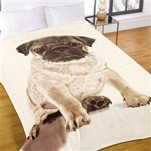 Supersoft Throw 150x200cm - Pug
