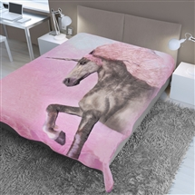 Supersoft Throw 150x200cm - Unicorn