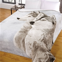 Supersoft Throw 150x200cm - Wolves