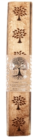 Tree of Life Wooden Incense Box 35cm