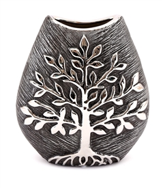 Tree of Life Decorative Flower Vase 20cm