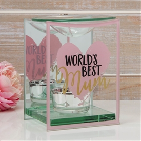 Best Mum Glass Oil Burner 12cm