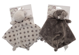 Elli And Raff Baby Comforter 2 Assorted