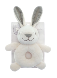 Plush Rabbit Rattle