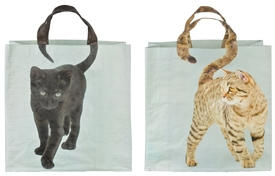 Cat Shopping Bags 2 Assorted