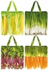 Colourful Re-Usable Vegetable Theme Shopping Bag 4 Assorted Priced Individually