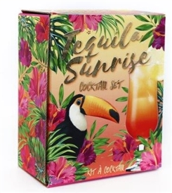 REDUCED Tequila Sunrise Gift Set 19cm