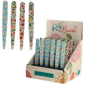 Botanical Floral Tweezers 4 Assorted SOLD IN 24's