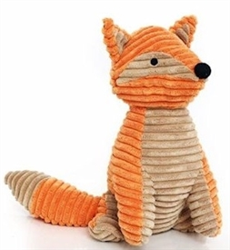 Ribbed Fox Doorstop 31cm