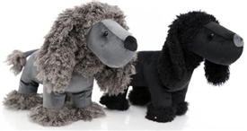 Poodle Doorstop 2 Assorted 37cm