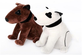 Black And White Dog Doorstop 23cm