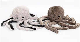 Plush Octopus Door Stop 2 Assorted Colours 38cm