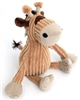 Plush Orange And White Giraffe Door Stop 23cm