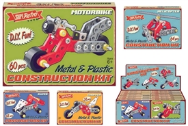 Vehicle Construction Set 4 Assorted
