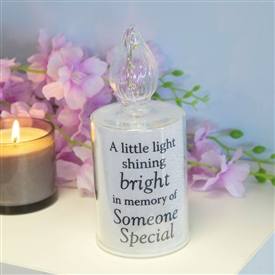 Thoughts Of You Memory Candle Someone Special 18cm