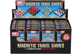 Magnetic Travel Games 4 Assorted