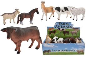 Fabulous Collection Of Farm Yard Animals 15cm 6 Assorted Priced Individually