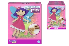 DIY Craft Your Own Pretty Felt Fairy