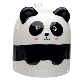 Upside Down Pandarama Ceramic Mug