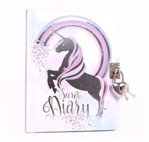 A6 Unicorn Secret Diary