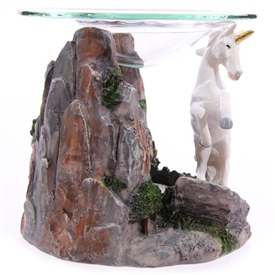 DUE JULY Unicorn Wax Melter / Oil Burner - 2 Assorted 12cm