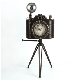 Camera Mantel Clock