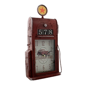 Petrol Pump Mantel Clock