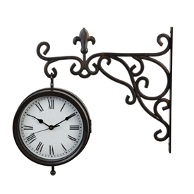 Large Hanging Clock 40cm