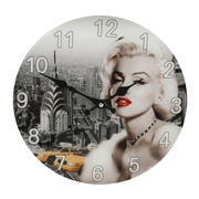 Marilyn Monroe Wall Clock - 30cm