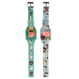 Silcone Dog Watch 2 Assorted