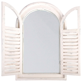 Mirror With Shutters