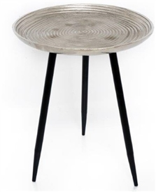 Silver 3 Legged Table 49cm