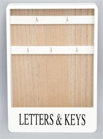 Letter And Key Rack 32cm
