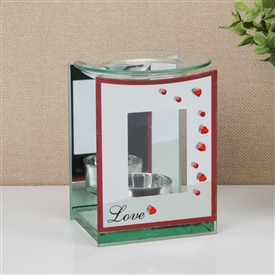 Red Heart Oil Burner