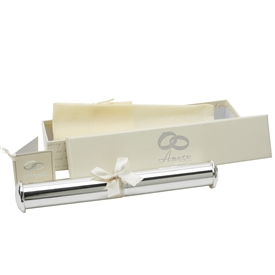 Amore Tube Shaped Wedding Certificate  Holder