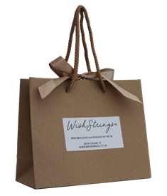 Wishstrings Ribbon Gift Bag