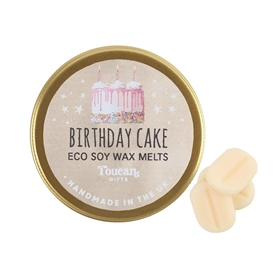 Eco Soy Wax Melts � Birthday Cake