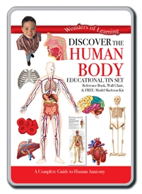 Educational Tin Set Human Body