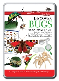 Educational Tin Set Bugs