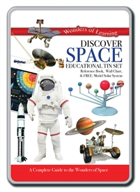 Educational Tin Set Space