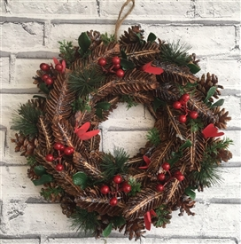 Woodland Berries Wreath 36cm