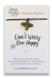 Wishstrings Bee Happy Bracelet