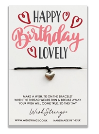 Wishstrings Happy Birthday Lovely Bracelet