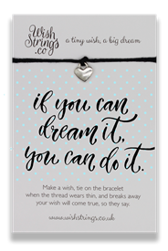 Wishstrings Dream It Do It Bracelet