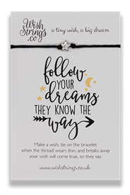 Wishstrings Follow Your Dreams Bracelet