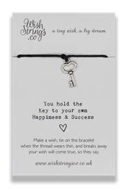 Wishstrings Key To Happiness Bracelet