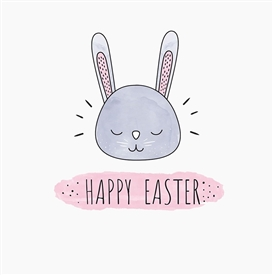 Happy Easter Card 11cm