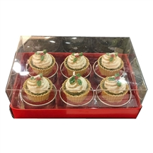 Christmas Mince Pie Tea Light Candle Set 6cm